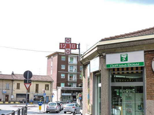 Croce farmacia led fullcolor