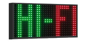 Display pubblicitario a led fullcolor