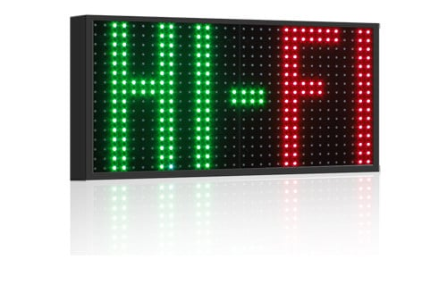 Display a led fullcolor modello RGB20-K
