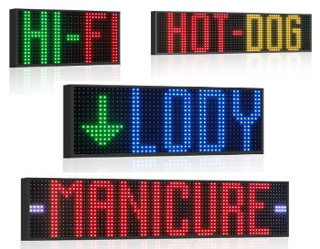 Display grafici a led fullcolor